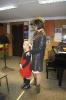 Wigilijna audycja klas fletu
